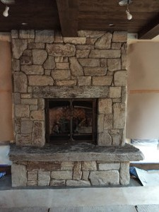Select Stone With  Slab Hearth