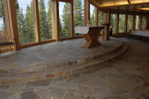 MIxed Quartzite with steps